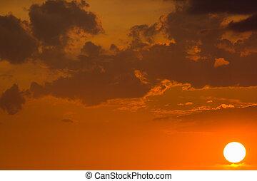 The sunset sky-9