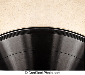 the old vinyl record