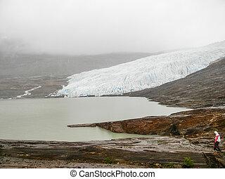 The Svartisen Glacier, Norway