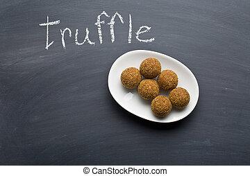 sweet dessert - the sweet dessert on chalkboard