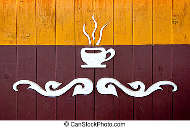 The Symbol a cup of coffee