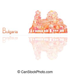 the symbol of Bulgaria, vector illustration