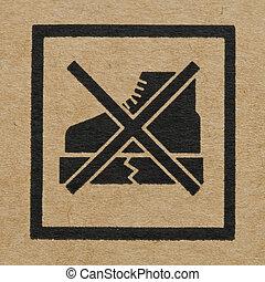 The Symbol on Cardboard