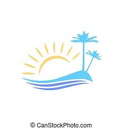 The symbolic image of the island