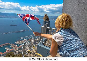 The symbols of Gibraltar