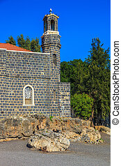 The Tabgha - The Holy Church was built on the Sea of...
