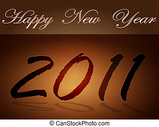 The tablet New Year
