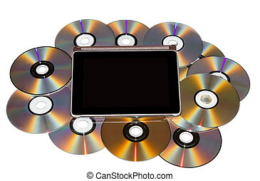 The Tablet-PC with CD