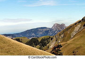 The Tannheim Mountains in Tyrol