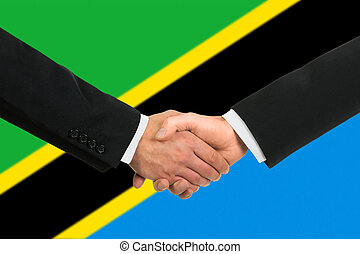 The Tanzania flag