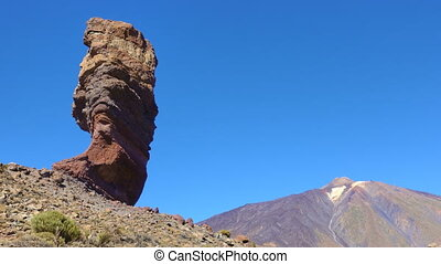 The Teide volcano in Tenerife - The Teide volcano (Pico del...