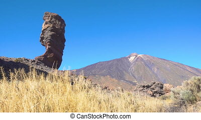 Pico del Teide - The Teide volcano (Pico del Teide) and The...
