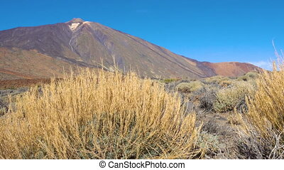 The Teide volcano (Pico del Teide) - View of the Teide...