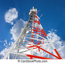 The telecommunication tower