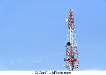 The telecommunication tower