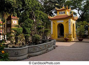Tran Quoc Pagoda in Hanoi, Vietnam
