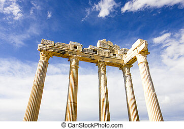 The Temple of Apollo in Turkey