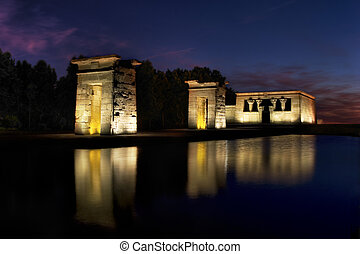 Temple of Debod - The Temple of Debod is an ancient Egyptian...