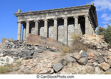 The Temple of Garni is hellenistic temple in Garni, Armenia.