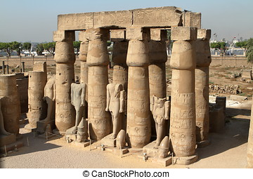 The Temples of Luxor in Egypt