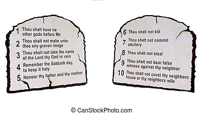 The Ten Commandment's - The title says it all. This picture ...