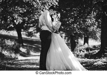 The tenderness feelings ob brides