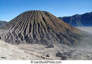 The Tengger caldera in Indonesia - The Tengger caldera on ...