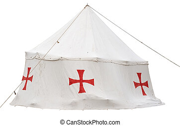the tent of the crusaders