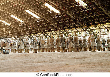 The Terracotta Warriors of China - XI'AN, SHAANXI PROVINCE,...