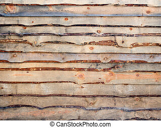 The texture of a pine fence. Wooden background