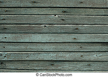 The texture of a wooden wall, an old planking board.