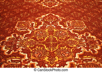 The texture of carpet