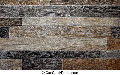 The texture of lenoleum wood. Close up