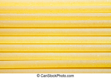 The texture of pasta