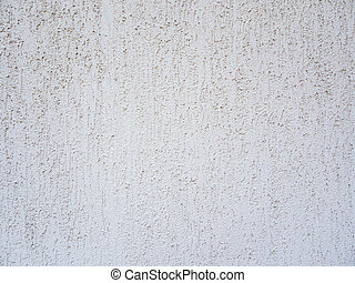 The texture of rough plaster. Grey plaster background.