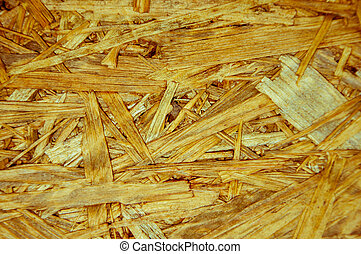 The texture of the lumber
