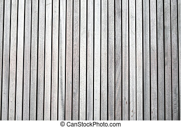 The texture of the boards