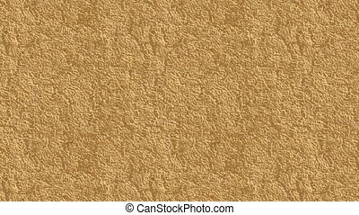 The texture of the fluid motion on a gold background HD