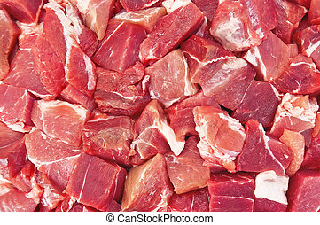 The texture of the meat