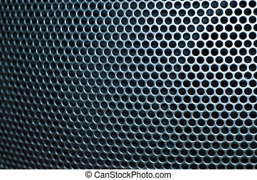 The texture of the metal grid 5