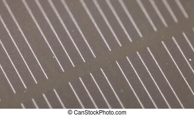 The texture of the solar battery - The texture of the...