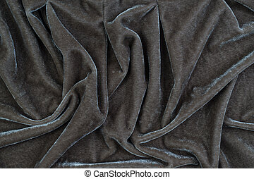 The texture of the velvet fabric