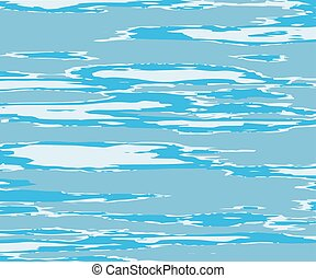 The texture of the water. Abstract natural background with different shades of blue
