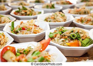 the Thai vegetables