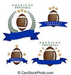 The theme American football.