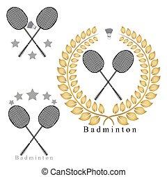 The theme badminton