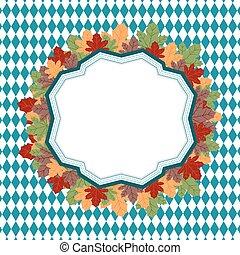 The theme Oktoberfest