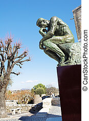 The Thinker - St Paul #9 - A copy of the famous bronze ...