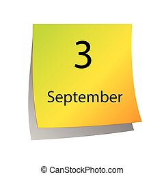 The third of September