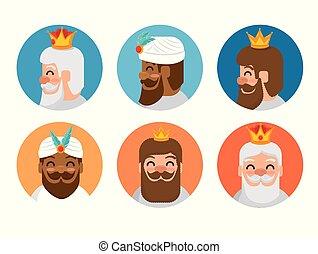 the three magic kings of orient cartoons